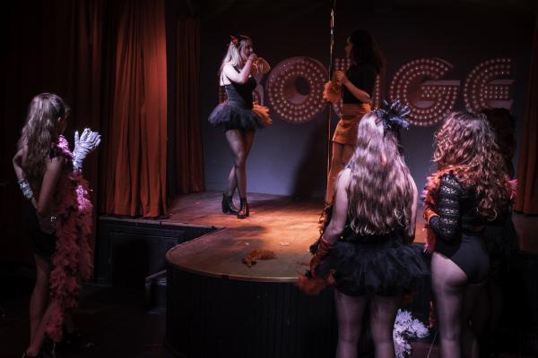 Workshop Burlesque in Den Helder